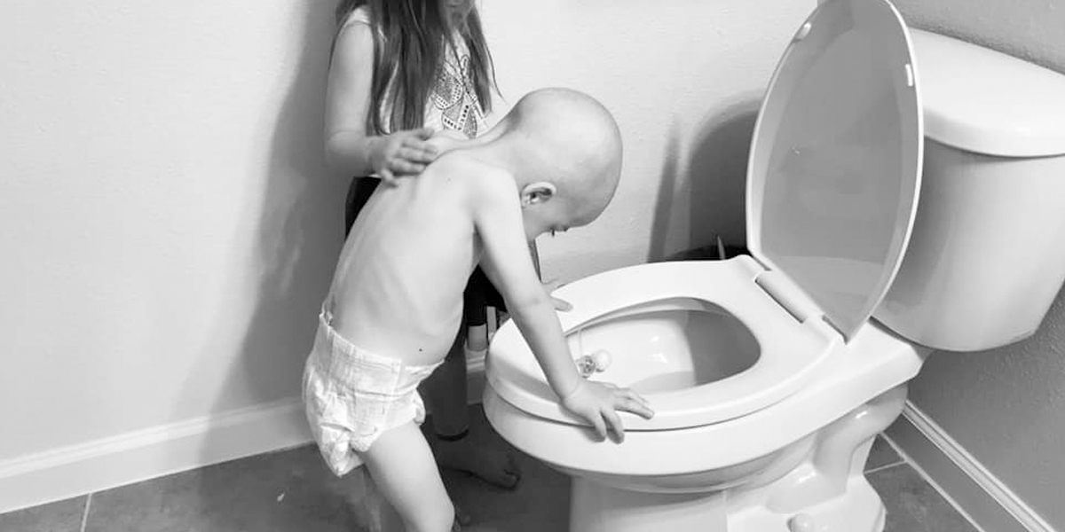 La desgarradora historia de una madre que quiso fotografiar a su pequeño hijo con leucemia