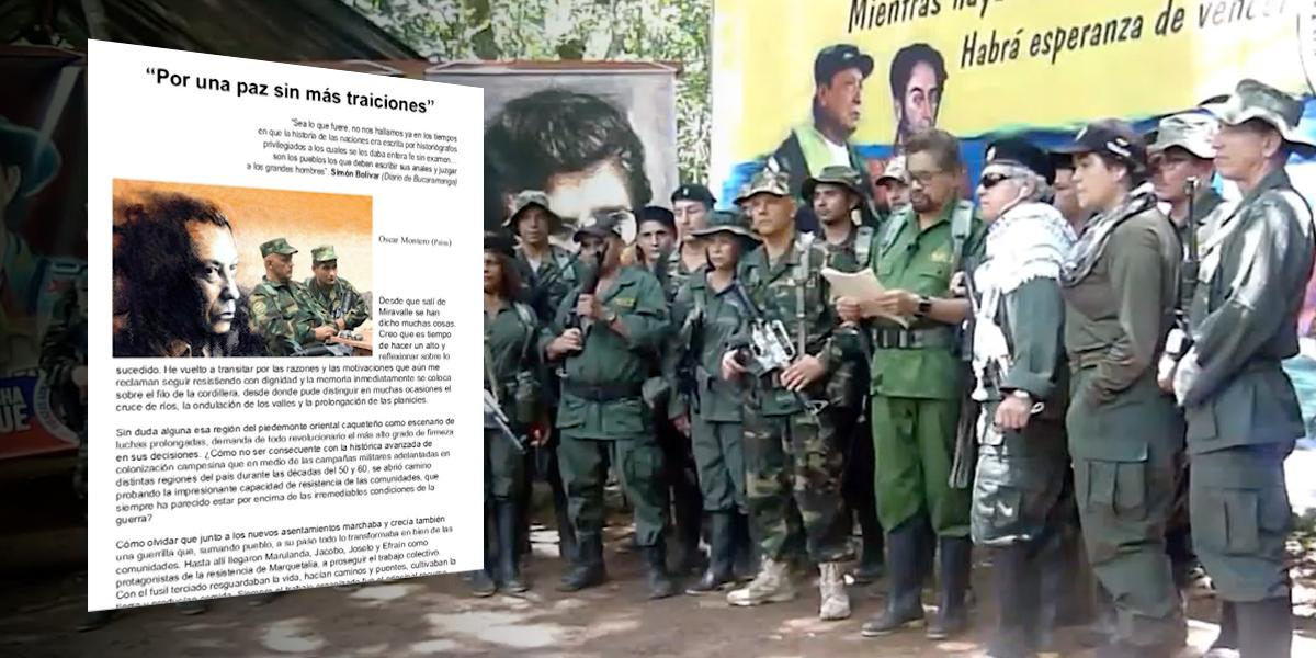 La extensa carta de alias 'El Paisa' con la que justifica su regreso a las armas