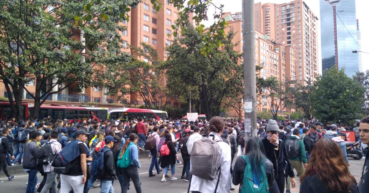¿Por qué protestan los estudiantes de las universidades en Bogotá?