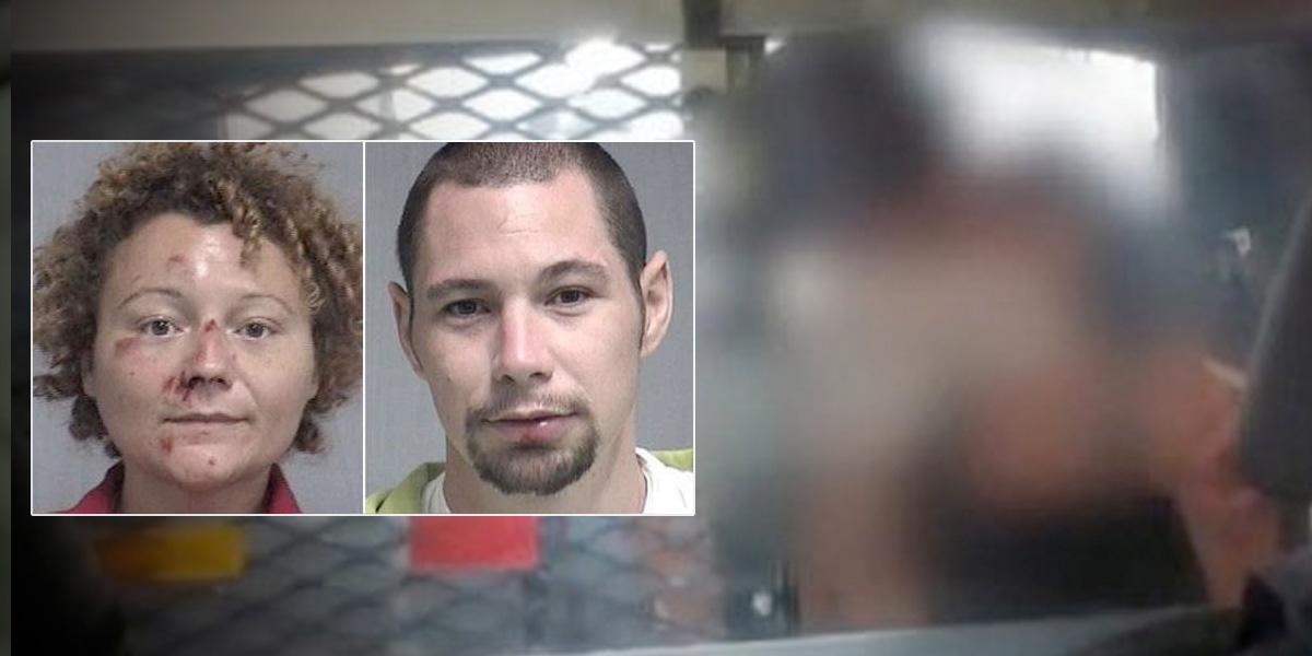 Los capturan por conducir ebrios, los dejan solos unos minutos y deciden tener sexo en la patrulla de la policía