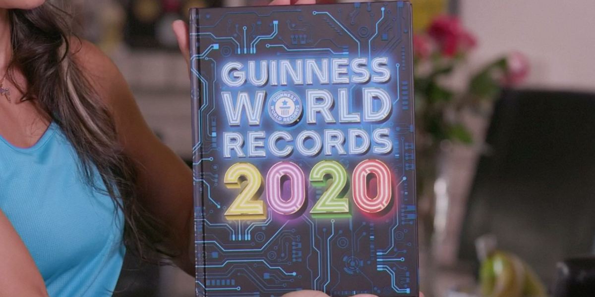 Por estas raras habilidades, cuatro personas entran al libro Récord Guinness 2020