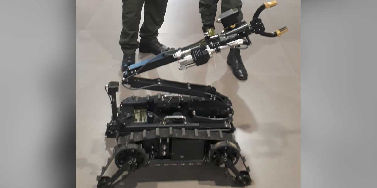 Ofrecen recompensa para encontrar el robot de la Policía en Popayán