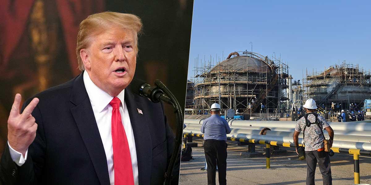 Presidente Trump anuncia sanciones contra el banco nacional de Irán
