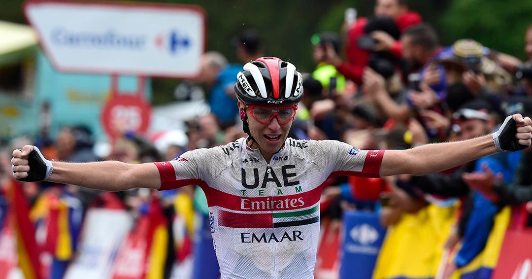 Pogacar gana la 13ª etapa de La Vuelta; 'Supermán' López y Nairo salen del podio