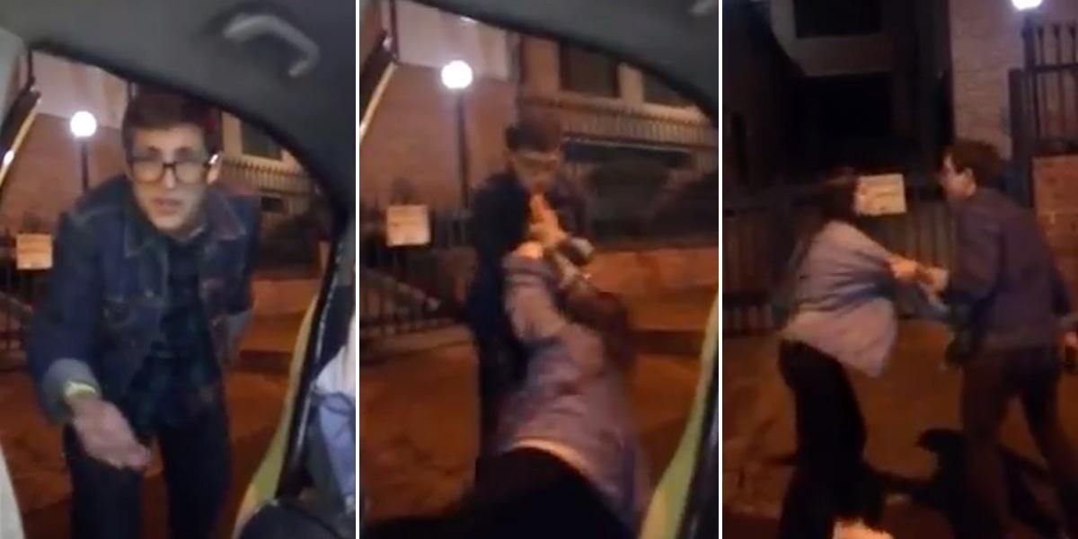 Joven borracho en Bogotá humilló a taxista, maltrató a su novia y no pagó la carrera