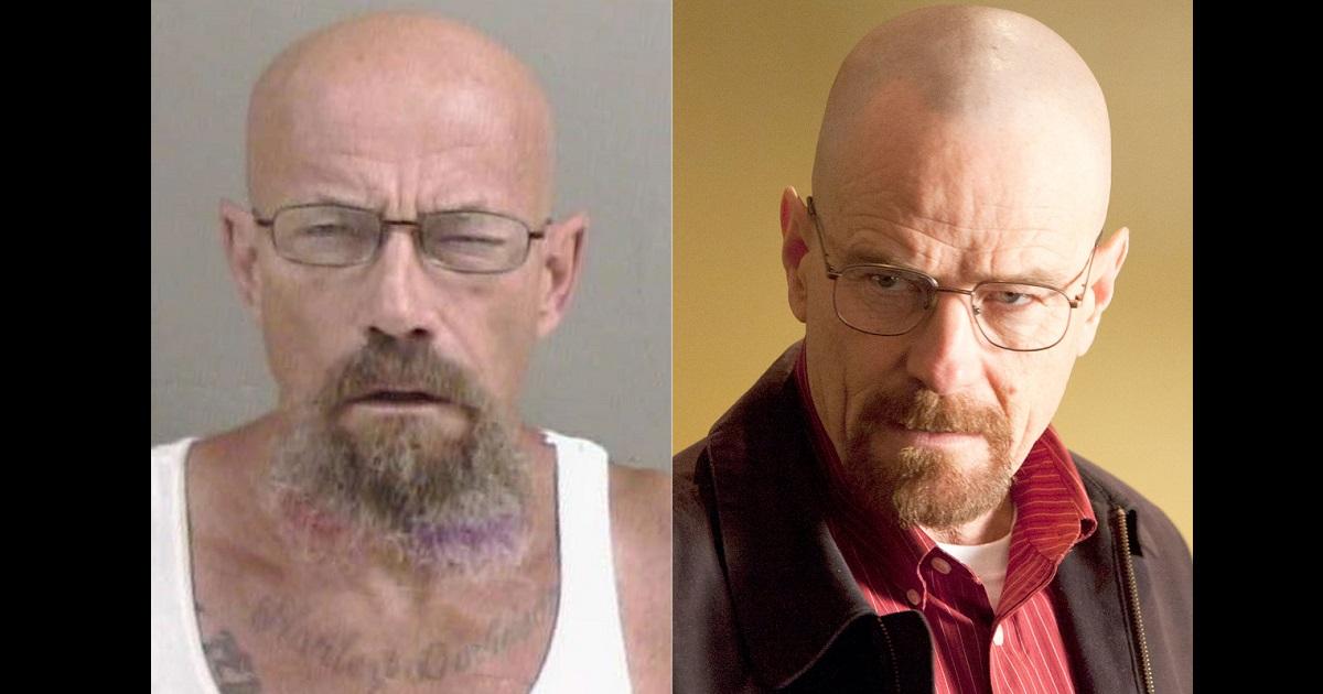 Buscan a delincuente idéntico a Walter White de Breaking Bad en EE.UU.