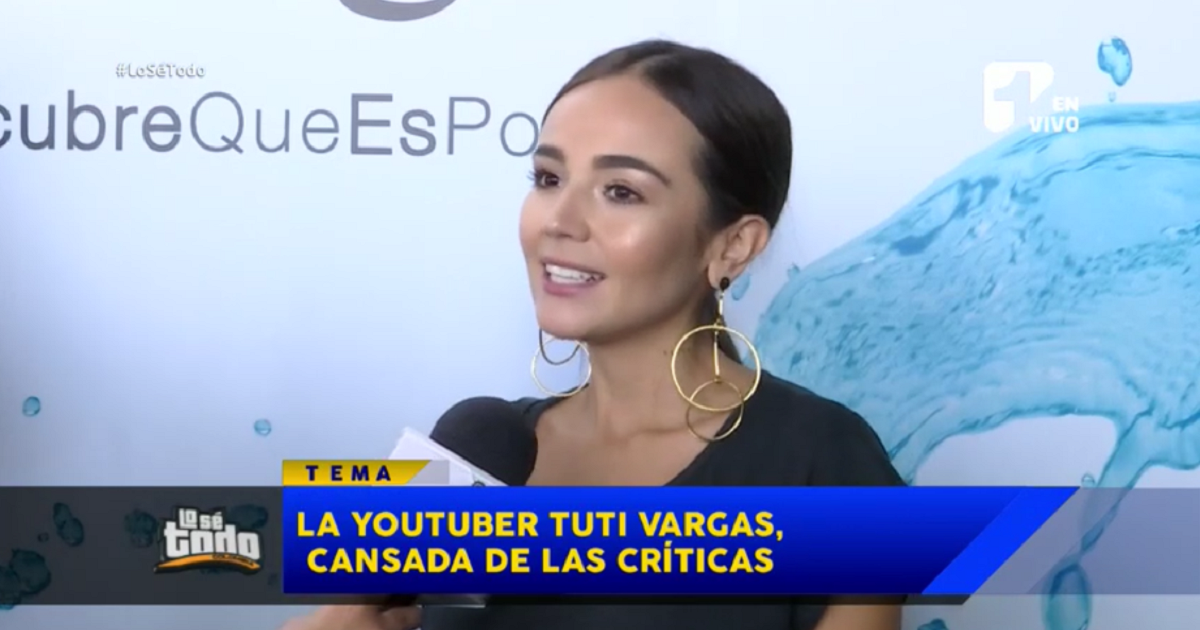Tuti Vargas revela contundente razón para alejarse de Twitter