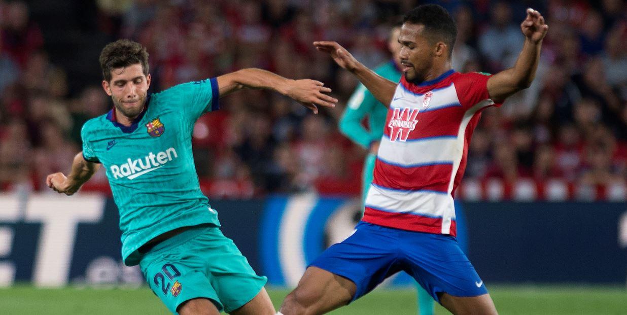 ¡Batacazo! Granada venció al Barcelona y es líder parcial de la liga española