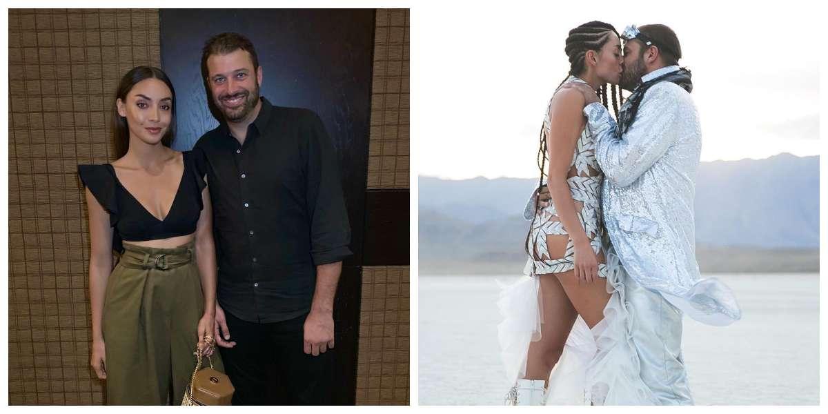 (Fotos) Así fue la extravagante boda de Carolina Guerra en medio de un desierto