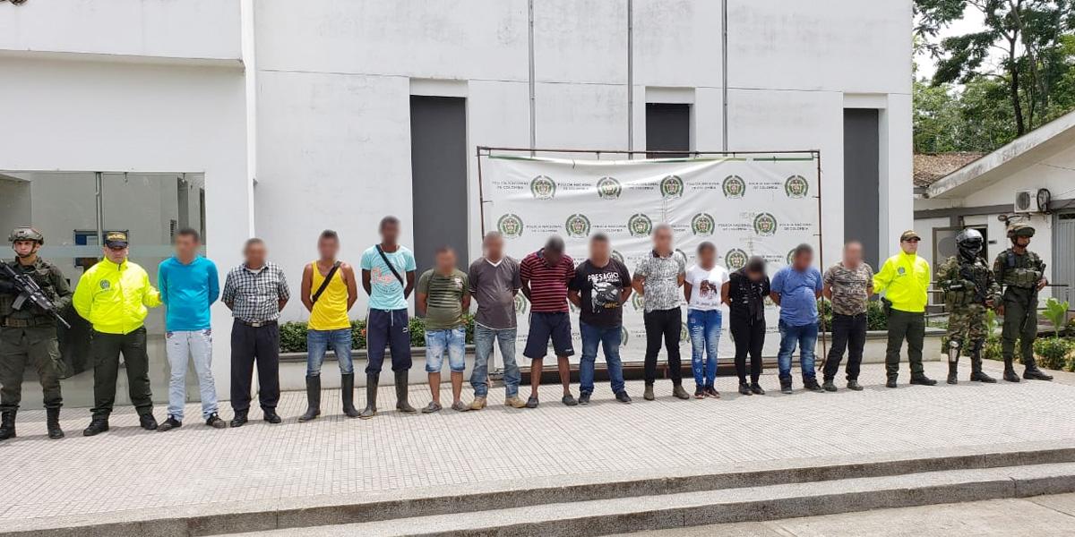 Duro golpe a columna vertebral del 'Clan del Golfo' en Antioquia