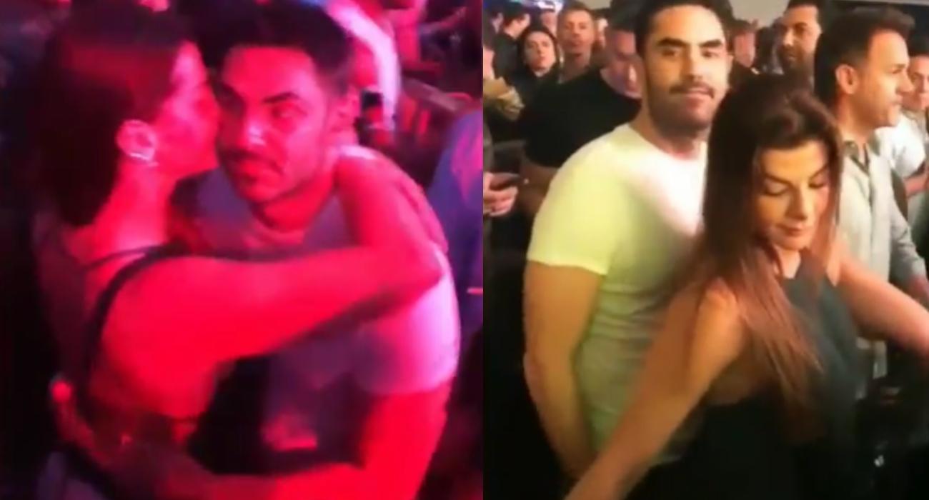 Video viral de Lincoln Palomeque tocando la cola de Carolina Cruz