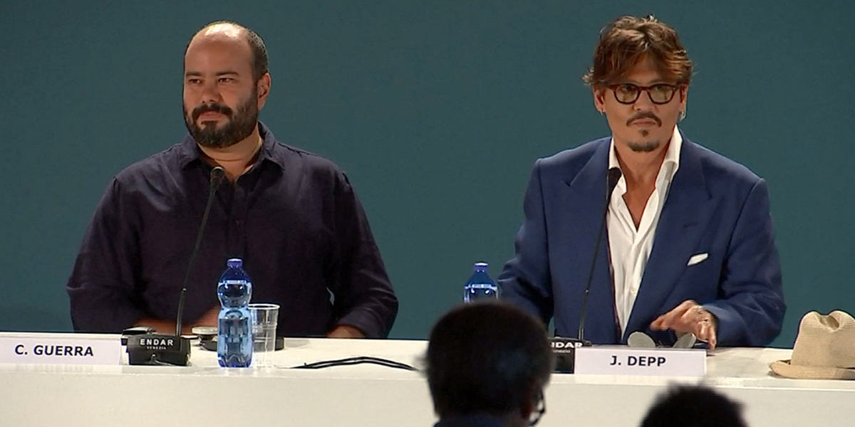 ¡Orgullo colombiano! Así fue la llegada de Ciro Guerra al Festival de Cine de Venecia