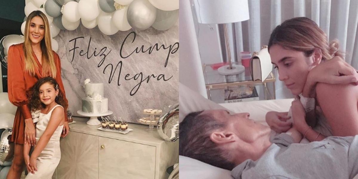 Daniela Ospina comparte la primera foto con su novio