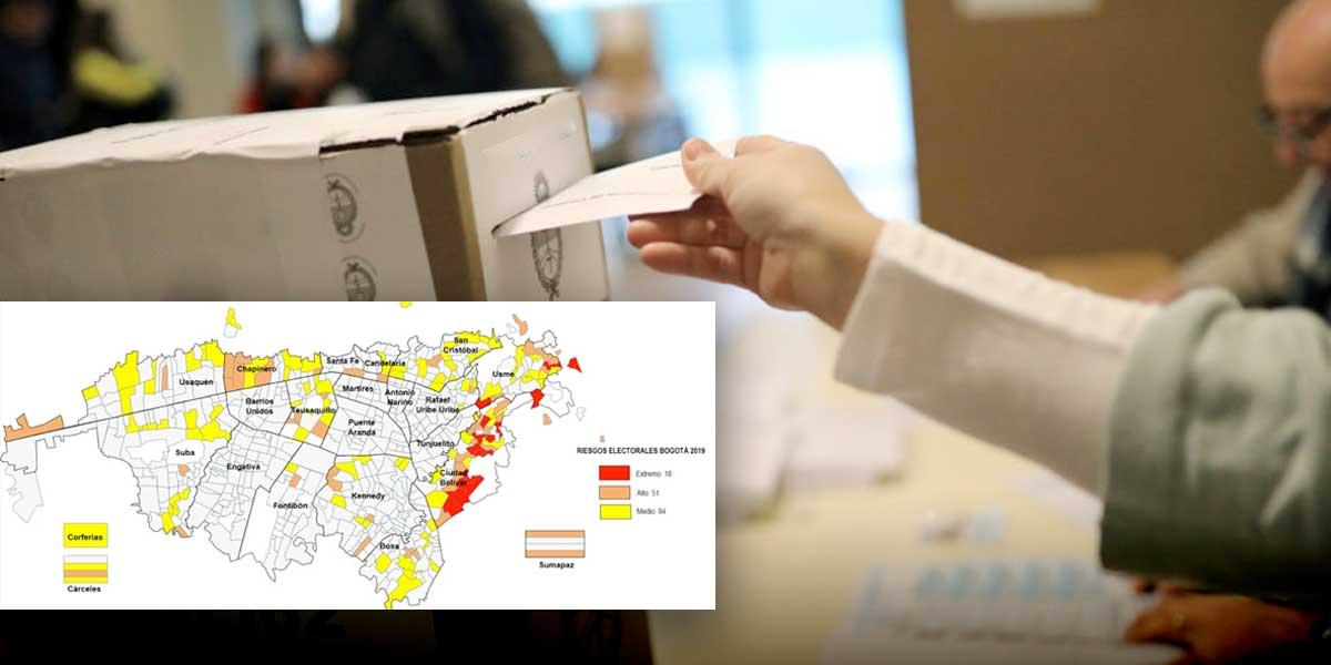 Estos son los puestos de votación con indicios de compra y venta de votos en Bogotá