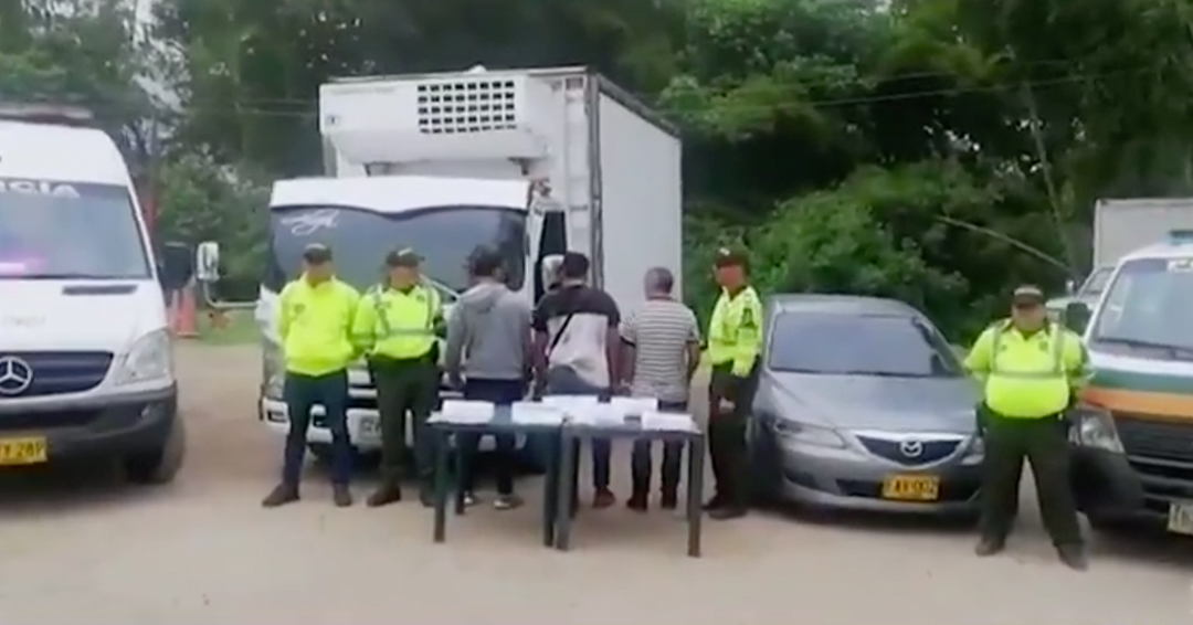 Policía desarticuló a 'Los Escopolaminos', la banda que drogaba a conductores de vehículos de carga