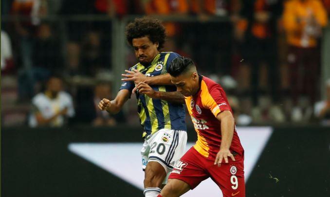 Falcao no pudo aportar mucho en un flojo clásico de Turquía entre Galatasaray y Fenerbahce