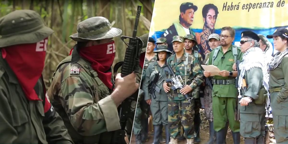 Gobierno asegura que si el ELN completa la alianza con las Farc cerraría la posibilidad de un diálogo de paz