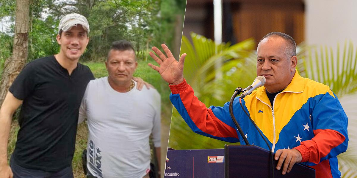 Diosdado Cabello asegura que hay más material de supuesto vínculo de Guaidó con 'Los Rastrojos'