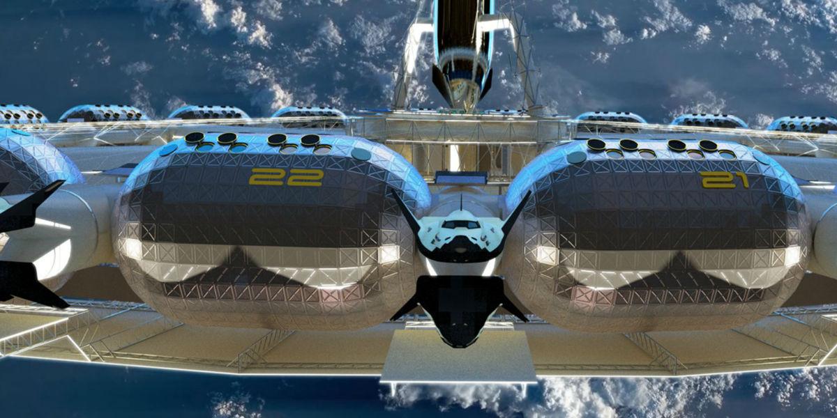 ¡Impresionante! Así será le primer hotel en el espacio