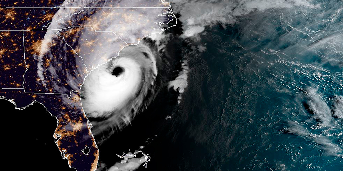 Dorian recobró fuerza y su núcleo podría impactar esta noche en el este de EE. UU.