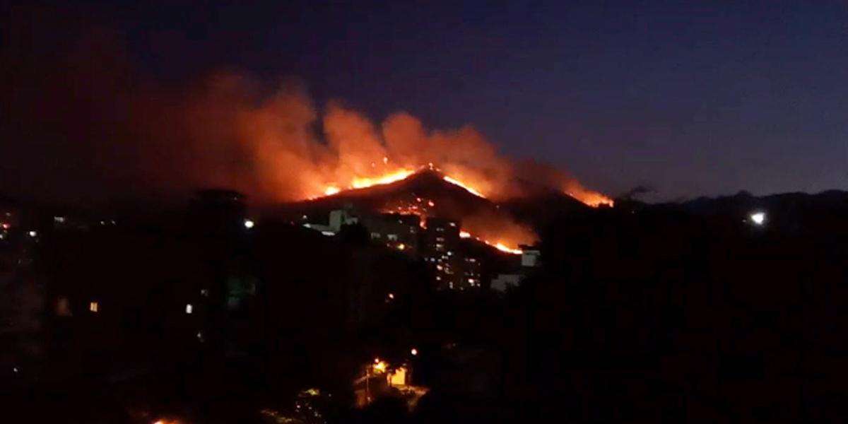 Ideam lanzó alerta por continuos incendios en el país
