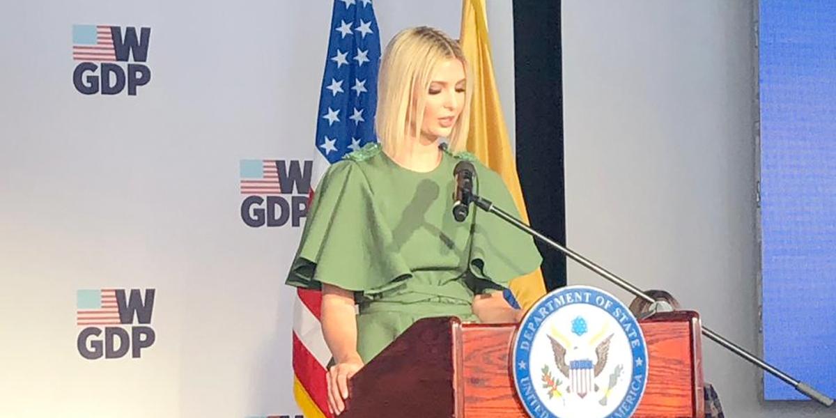 Ivanka Trump lanza academia para mujeres emprendedoras en Colombia