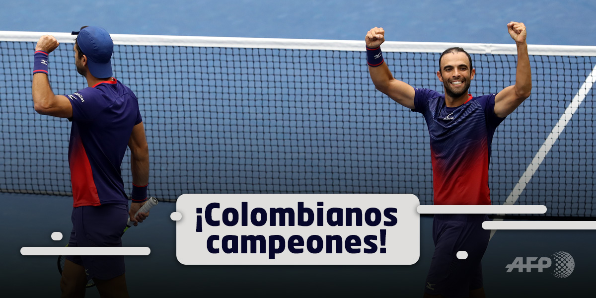 juan cabal robert farah campeones us open 2019 colombia