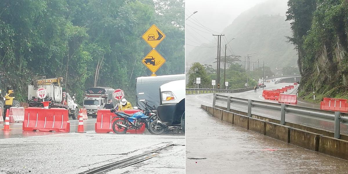 Por lluvias, vuelven a suspender el paso de la vía al Llano