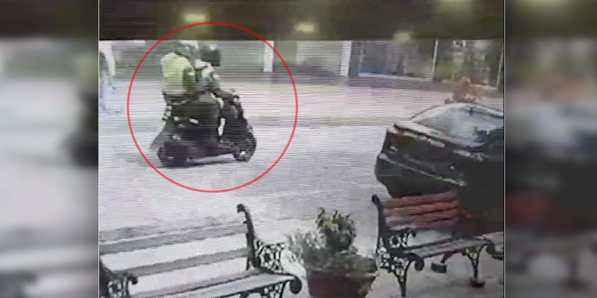 En video quedó registrado el primer asalto bancario en la historia de San Andrés