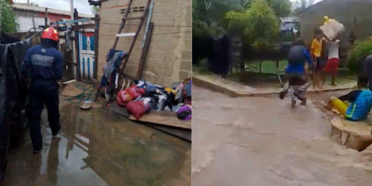 Por fuertes lluvias, 445 familias se han visto afectadas en Barranquilla