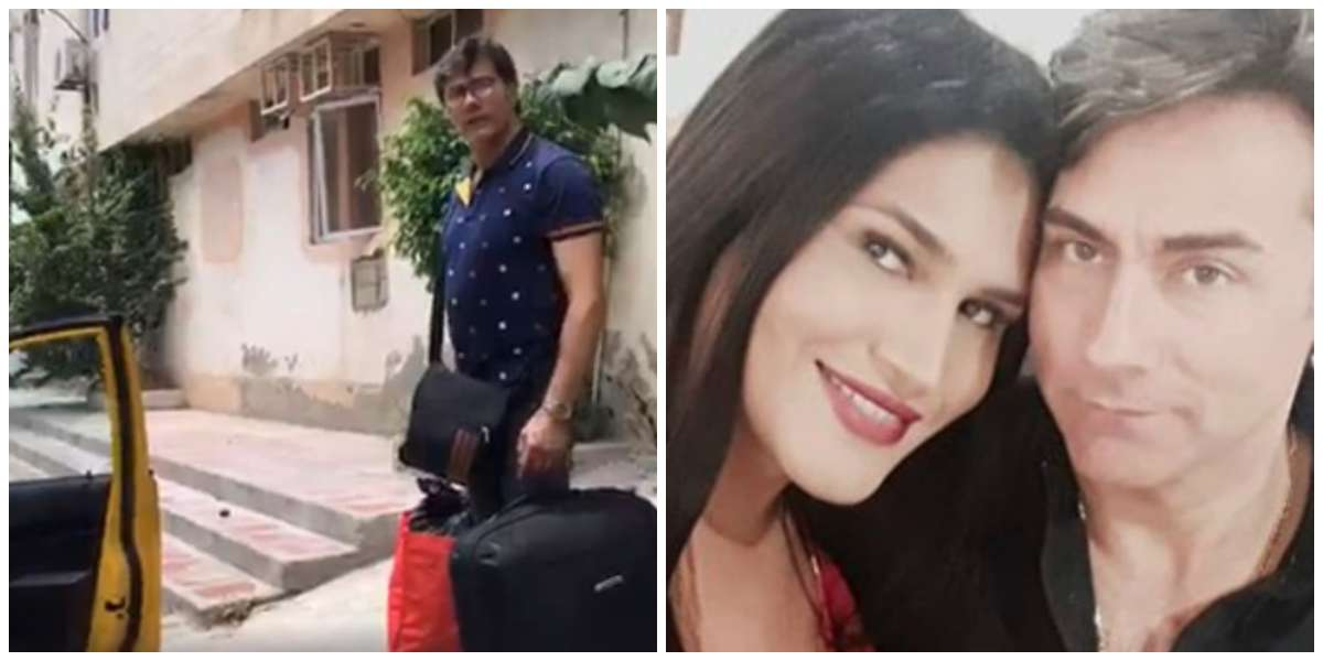 Video de Mauro Urquijo y su esposa Trans cuando los echaron de un hotel por no pagar la cuenta