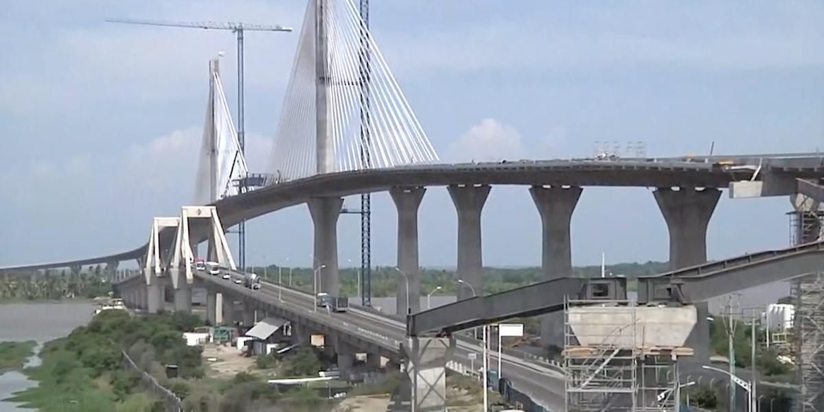 El Puente Pumarejo, la megaestructura que se destacará en Latinoamérica
