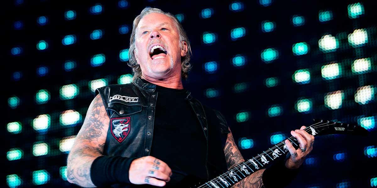 Metallica pospone su gira en Oceanía por rehabilitación de su vocalista James Hetfield