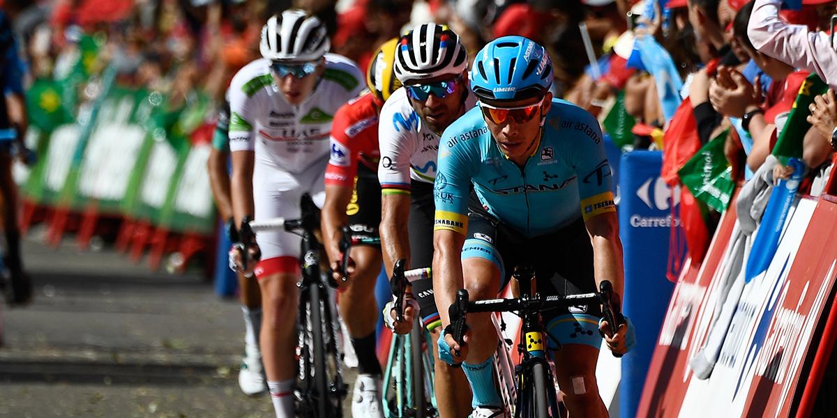 'Supermán' López y Fuglsang fueron penalizados con 10 segundos en la Vuelta a España