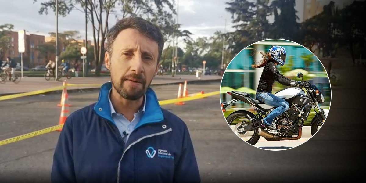Parrilleros aseguran sentirse más seguros viajando en moto si conduce una mujer