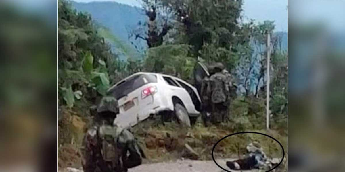 Investigan la muerte de un escolta de la UNP en medio de un retén militar en Arauca