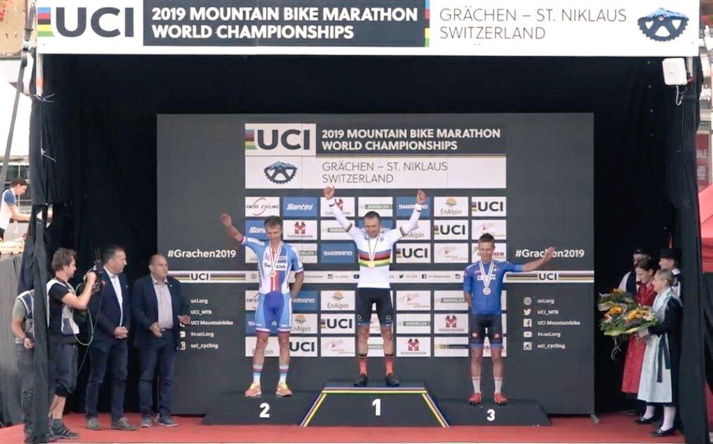 ¡Campeón del mundo! Leonardo Páez se consagró en el Mundial de Maratón de MTB
