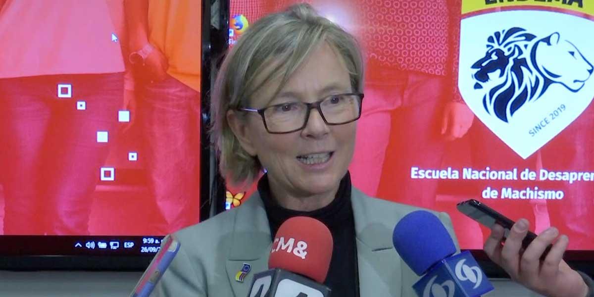 Unión Europea lanza 'escuela' para que los colombianos desaprendamos conductas machistas