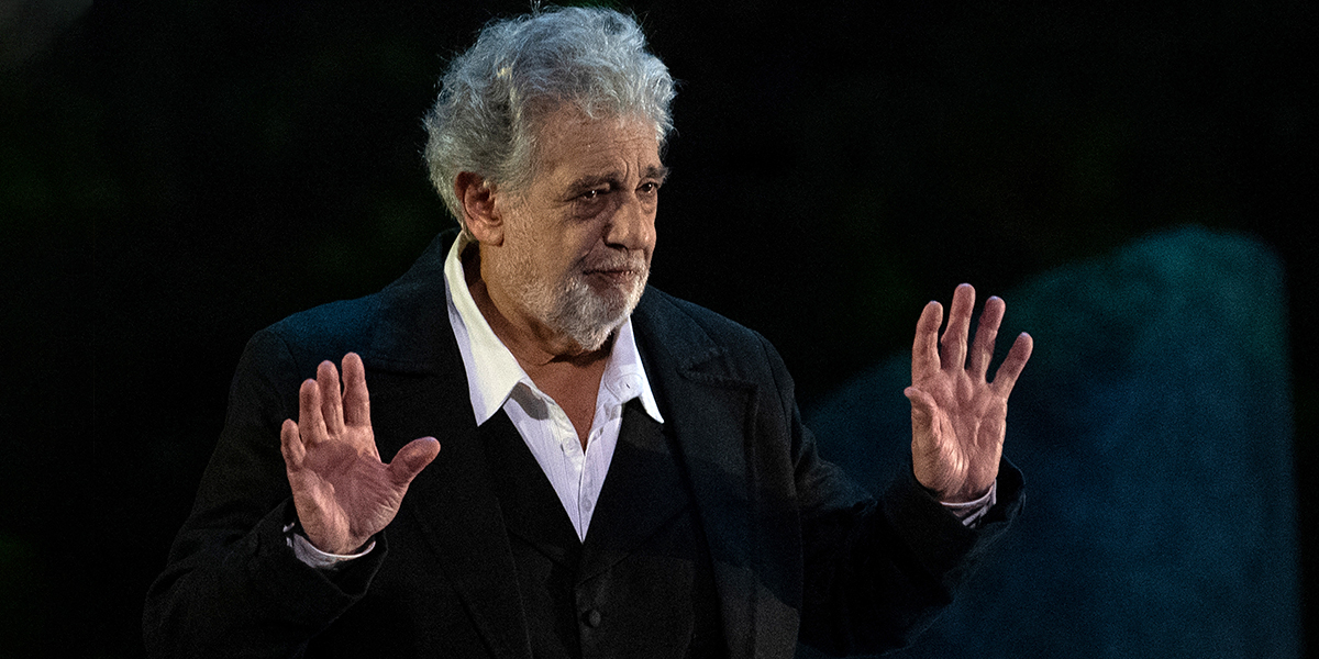 El tenor Plácido Domingo es acusado por 11 mujeres de abuso sexual