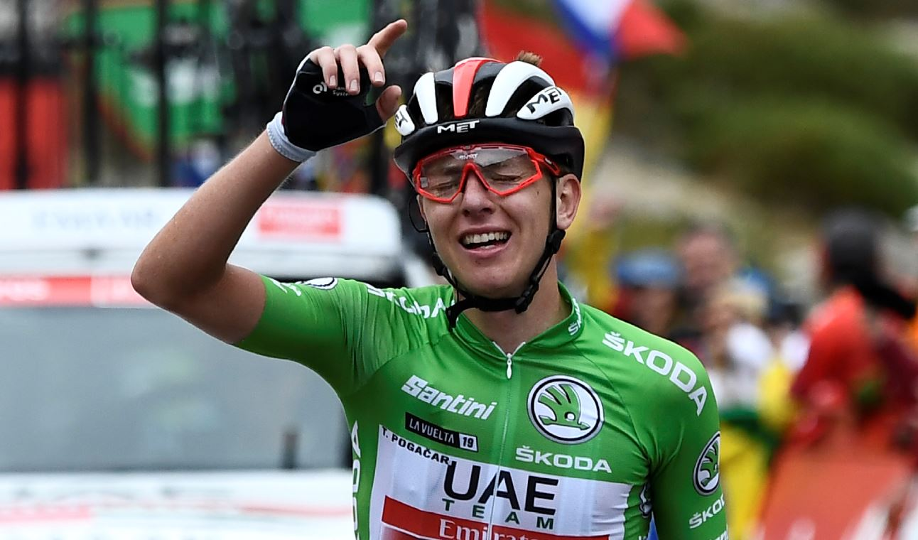 ¡Pogacar intratable! El esloveno ganó su tercera etapa, le quitó la blanca a López y el podio a Nairo