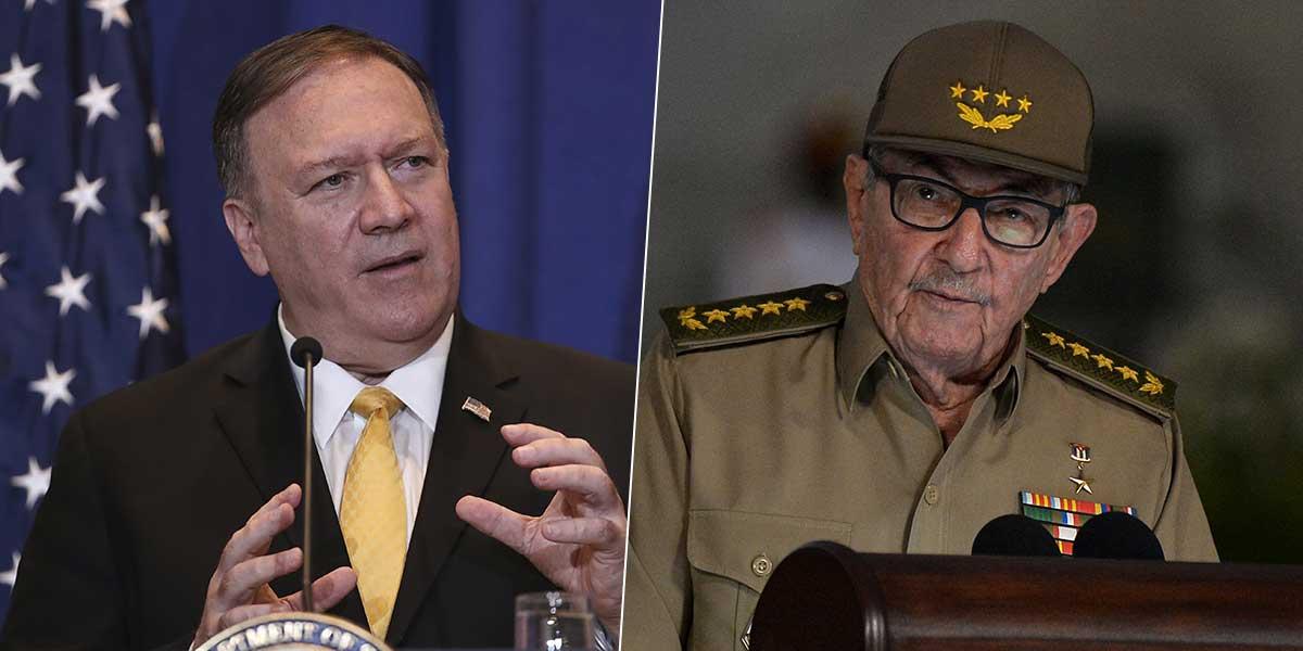 Raúl Castro es sancionado por Estados Unidos por «graves violaciones de Derechos Humanos»