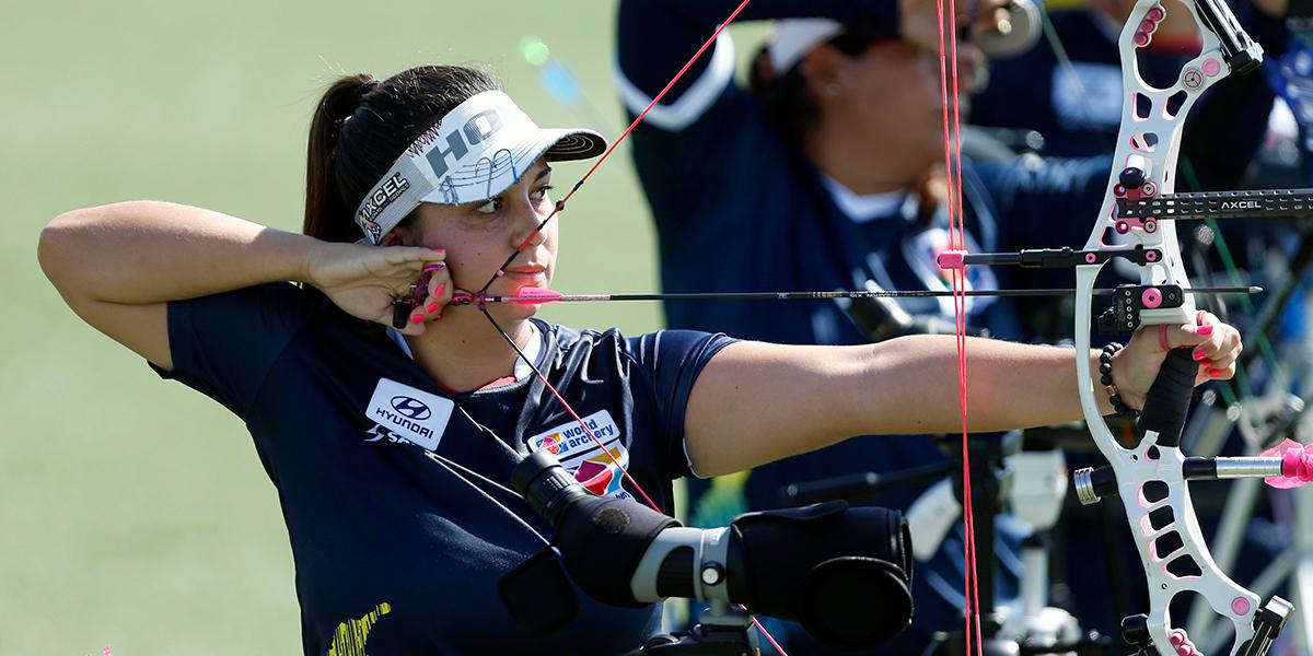¡La mejor otra vez! Sara López es la campeona mundial de tiro con arco