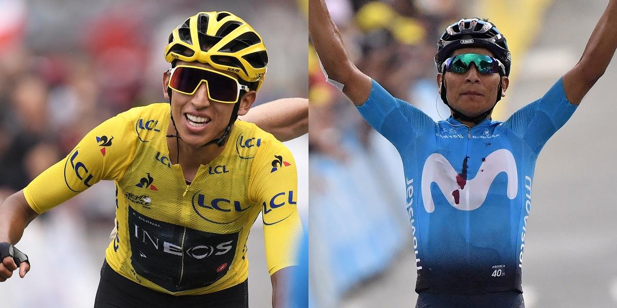 Egan Bernal y Nairo Quintana encabezan la nómina de Colombia para el Mundial de ciclismo