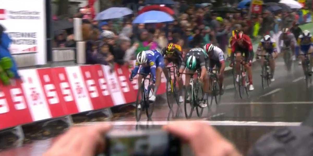 Nueva victoria para el ciclismo colombiano: Álvaro Hodeg gana en Alemania