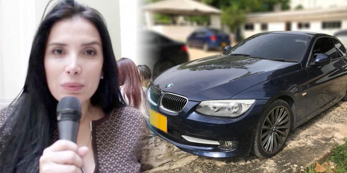 El particular 'botín' que halló la Fiscalía dentro de una maleta en el BMW de Aida Merlano
