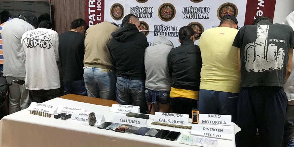 Capturados 26 integrantes del Clan del Golfo que serían responsables de 21 asesinatos en Antioquia