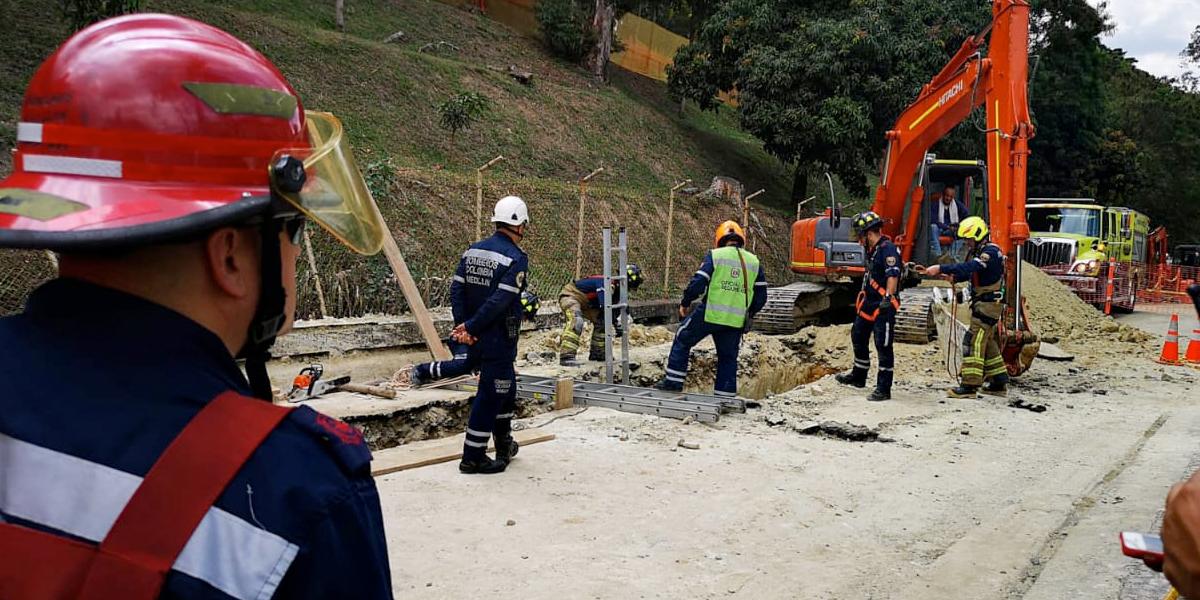 Accidente laboral deja un muerto y un herido en el cerro Nutibara de Medellín