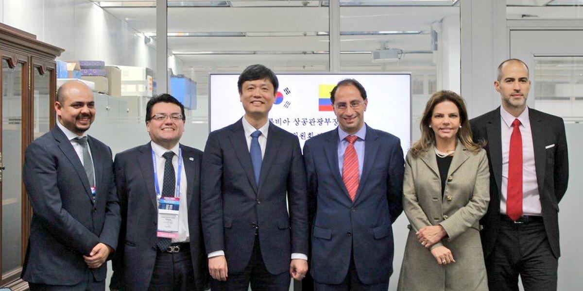 Corea del Sur apoyará proceso de transformación digital de Colombia