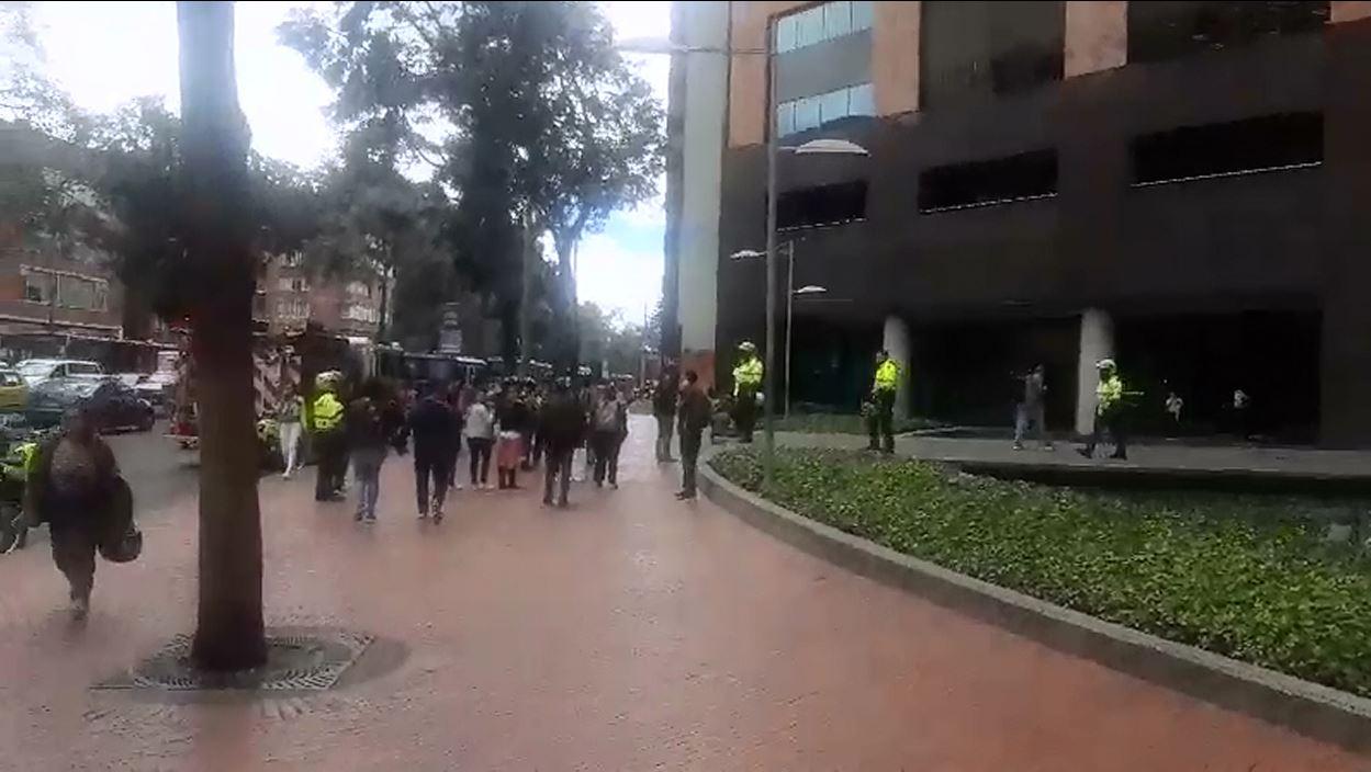 Reportan explosión en Chapinero, Norte de Bogotá