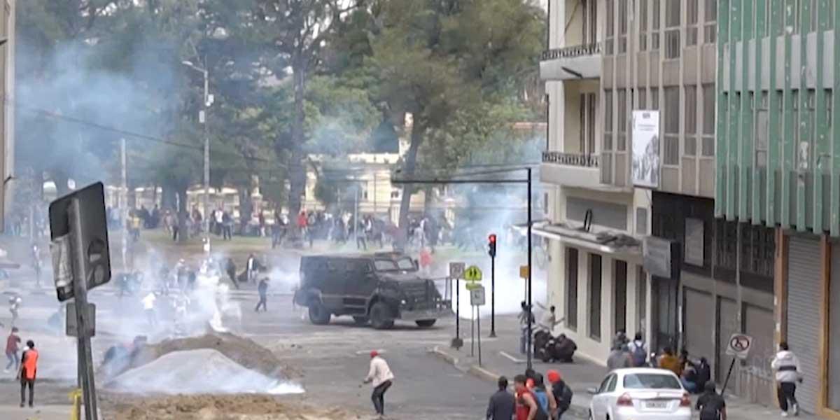 Ecuador enfrenta un verdadero levantamiento popular